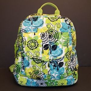Vera Bradley Limes Up Quilted Soft Backpack